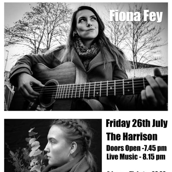 Folk On A Monday Presents Fiona Fey and Rose Ford at The Harrison promotional image