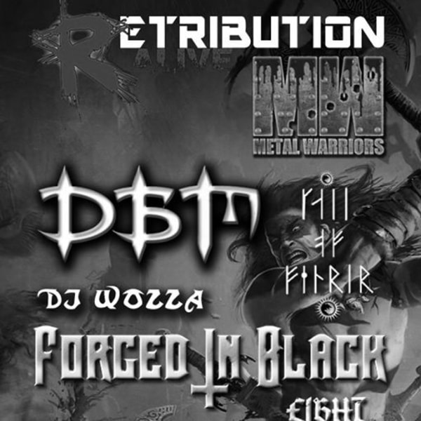 Retribution Alive: Dead Before Mourning / Forged In Black at The Stag's Head promotional image