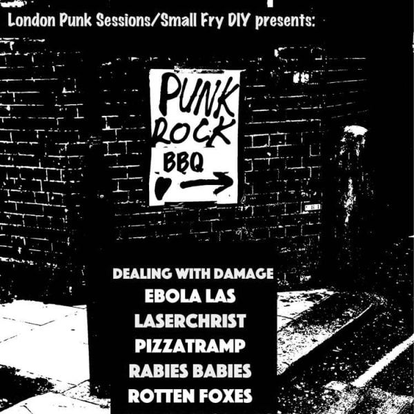 Punk Rock BBQ/Werecats' Album Release Party  at Windmill Brixton promotional image