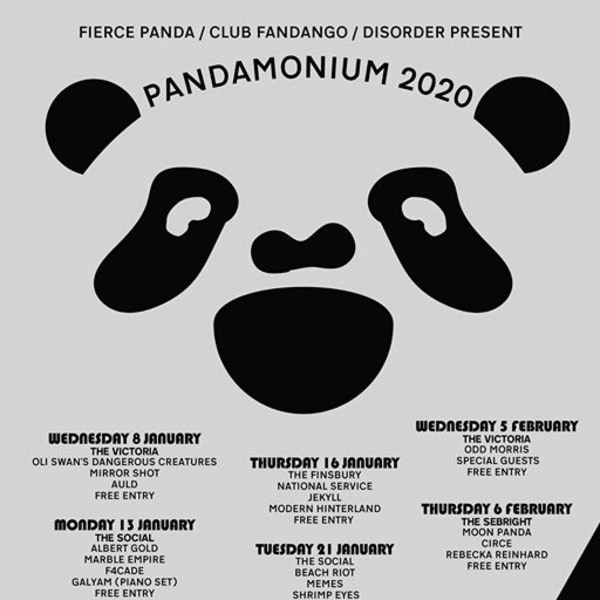Pandamonium 20: China Bears / Classic Yellow / Prima Queen at The Victoria promotional image