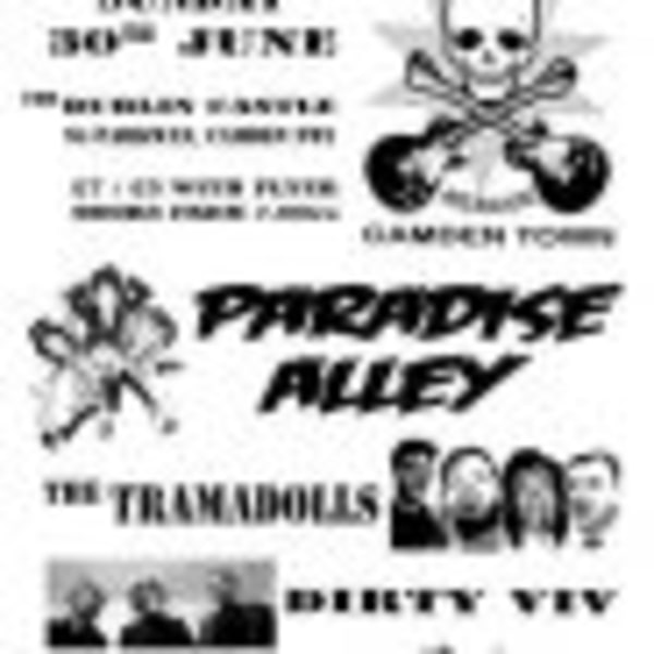 Paradise Alley + The Tramadolls + Dirty Viv + Marigold Spitfire at Dublin Castle promotional image