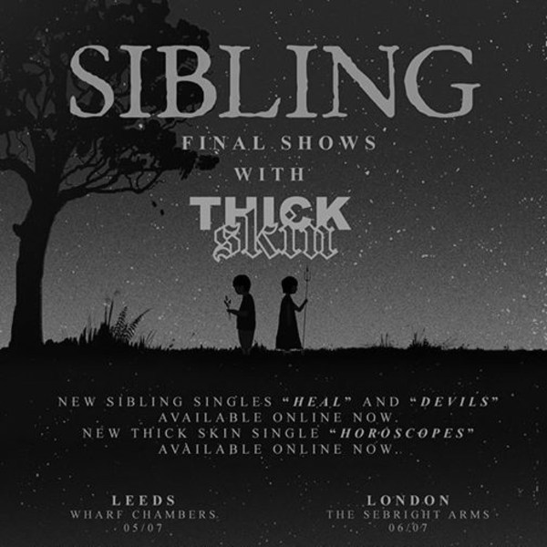 BSR Presents Sibling's Final Show at Sebright Arms promotional image