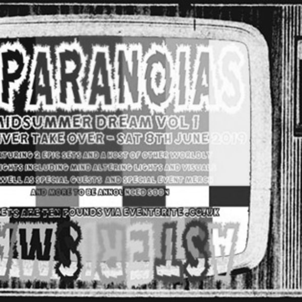 11PARANOIAS Midsummer Dream Vol 1 - New River Takeover. at New River Studios promotional image