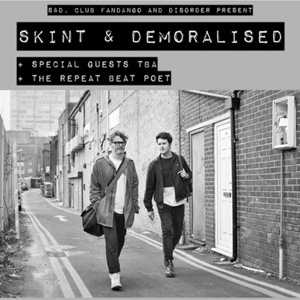 Skint & Demoralised / Albert Gold / The Repeat Beat Poet +Guests at The Victoria promotional image