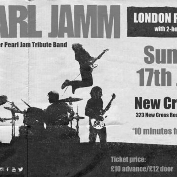 Pearl Jam London Pre-Party at New Cross Inn promotional image