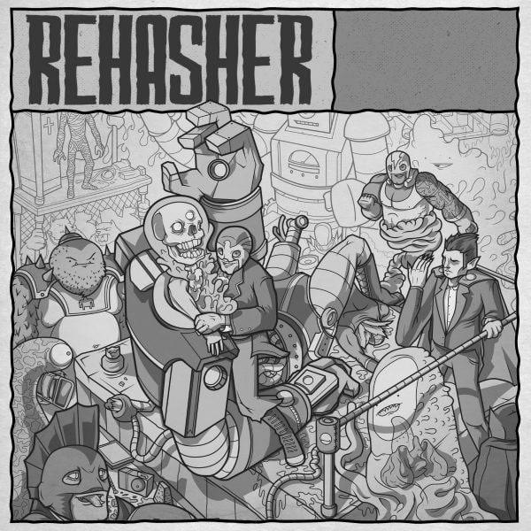 Rehasher at New Cross Inn promotional image
