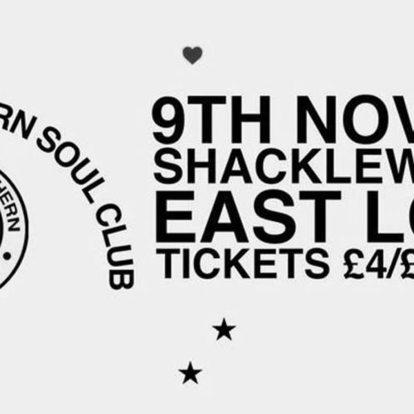 Deptford Northern Soul Club presents: Dept ford Northern Soul Club at Shacklewell Arms promotional image