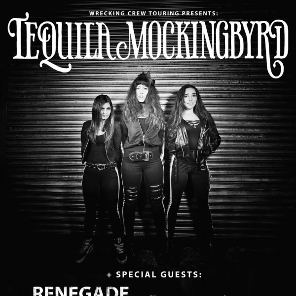 Tequila Mockingbyrd + Renegade Twelve + The Garage Flowers  at The Fiddler's Elbow promotional image