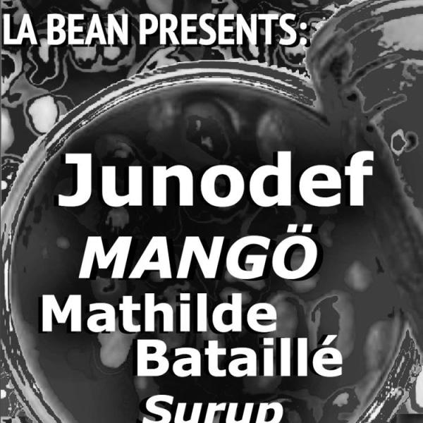 Junodef, Mangö, Mathilde Bataillé, Surup  at Windmill Brixton promotional image