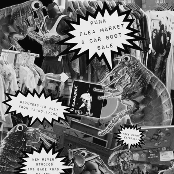 Punk Flea Market & Car Boot Sale - Round 2 at New River Studios promotional image