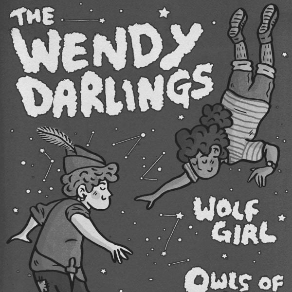 For The Sake Of Tapes presents The Wendy Darlings, Wolf Girl, Owls of No at The Victoria promotional image