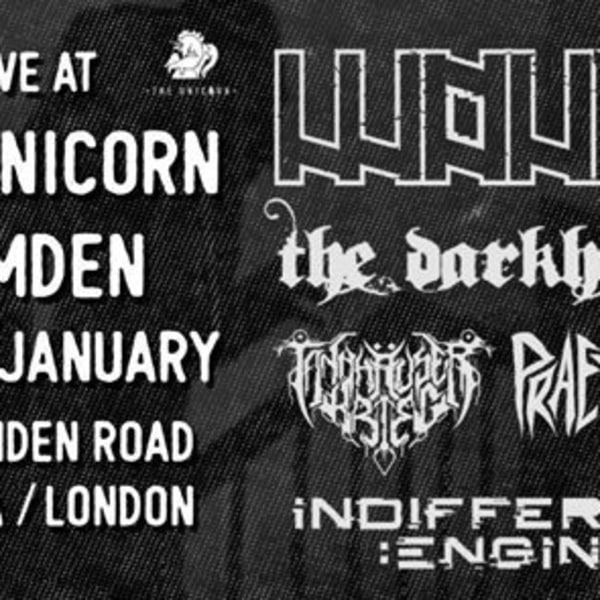 FREE ENTRY: Wound / The Darkhorse plus others at The Unicorn promotional image