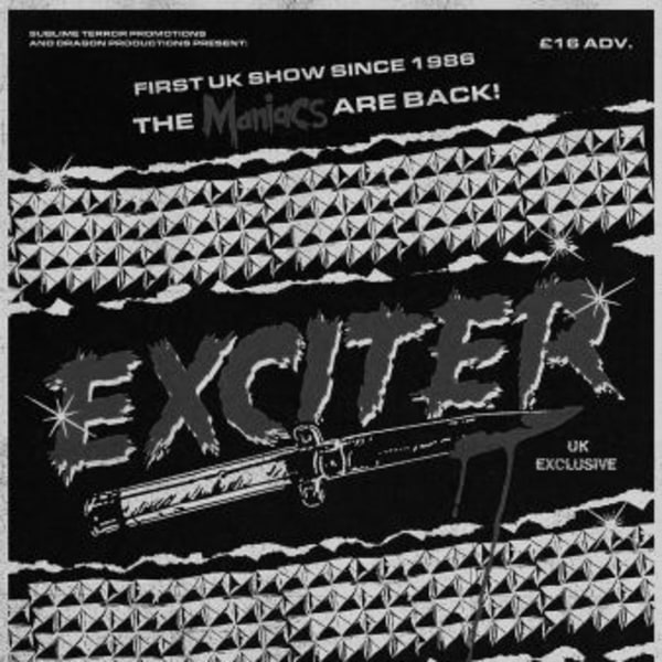 Exciter at New Cross Inn promotional image