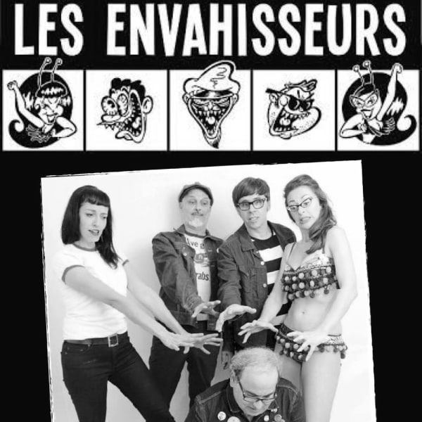 Weirdsville - Les Envahisseurs (Can), The Kumari, DJs till late! at The Fiddler's Elbow promotional image
