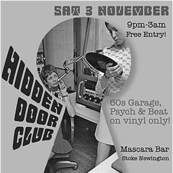 Hidden Door Club - Free Entry! 			 at Mascara Bar promotional image