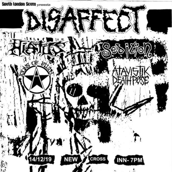 SLS presents: Disaffect at New Cross Inn promotional image