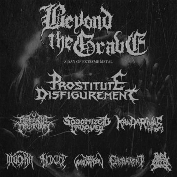 Beyond The Grave Festival 2019 at New Cross Inn promotional image