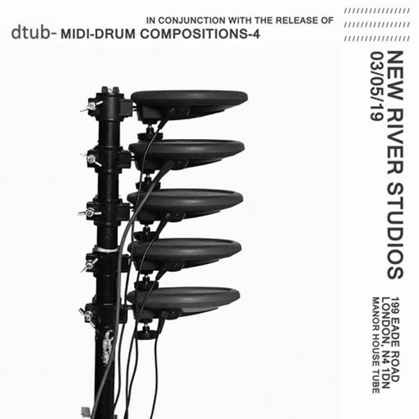 MIDI-Drum Compositions-4 Release Party at New River Studios promotional image