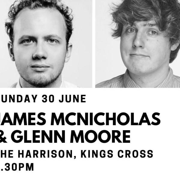 Edinburgh Previews: James McNicholas & Glenn Moore at The Harrison promotional image