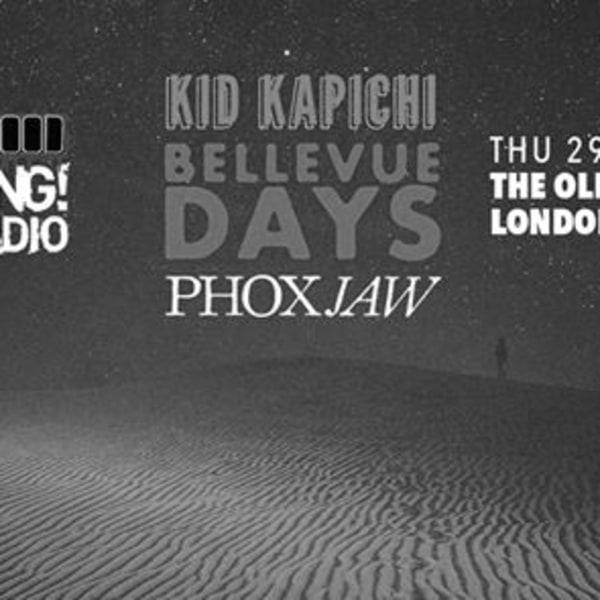 Kerrang Radio Fresh Blood - Kid Kapichi, Bellevue Days & Phoxjaw at The Old Blue Last promotional image