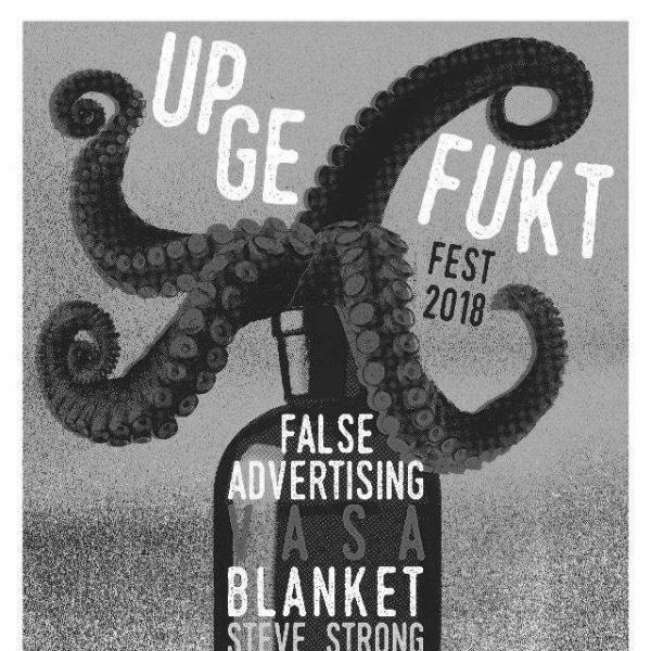 UPGEFUKT FEST 2018: False Advertising, VASA and many more  at Windmill Brixton promotional image