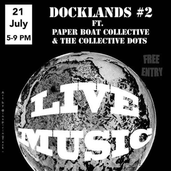 Paper Boat Cllctve x Collective Dots: Docklands 2 at Stags Head at The Stag's Head promotional image