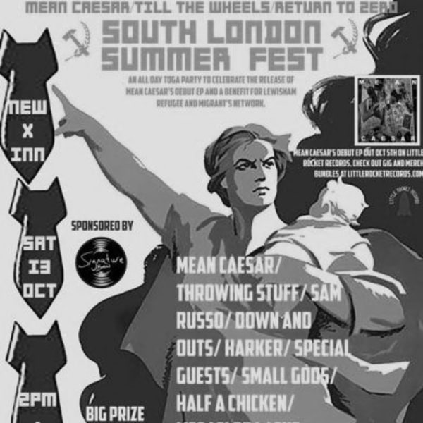 South London Summer Fest / Mean Caesar Release Party / Toga Party! at New Cross Inn promotional image