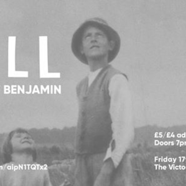 Fell + Benedict Benjamin at The Victoria promotional image
