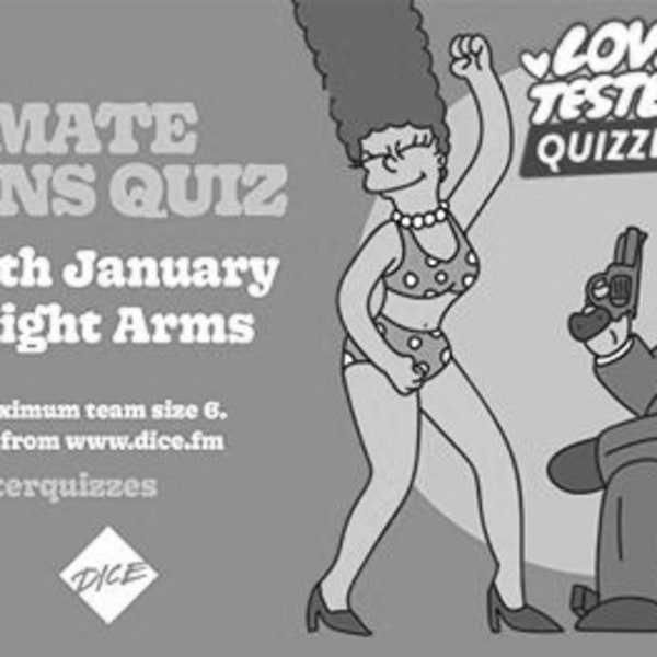 The Ultimate Simpsons Quiz | 2020 at Sebright Arms promotional image