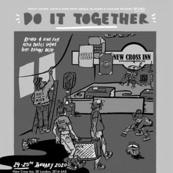 Do It Together Fest at New Cross Inn promotional image