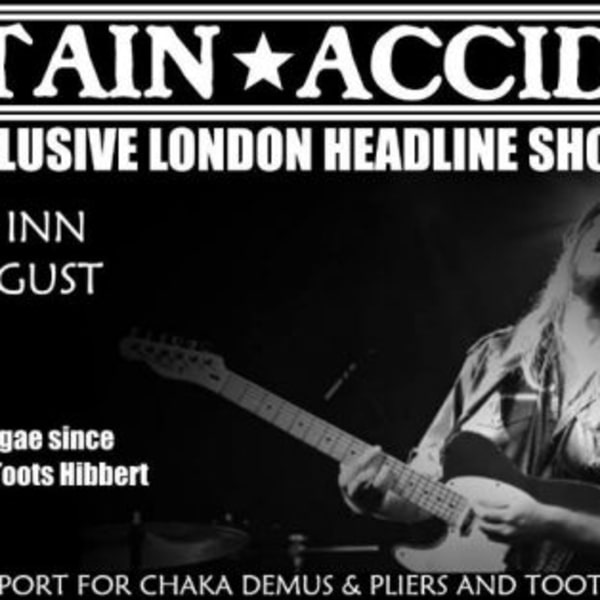 Captain Accident & The Disasters at New Cross Inn promotional image