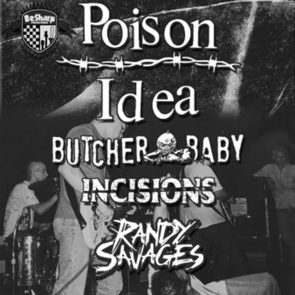 Poison Idea at New Cross Inn promotional image