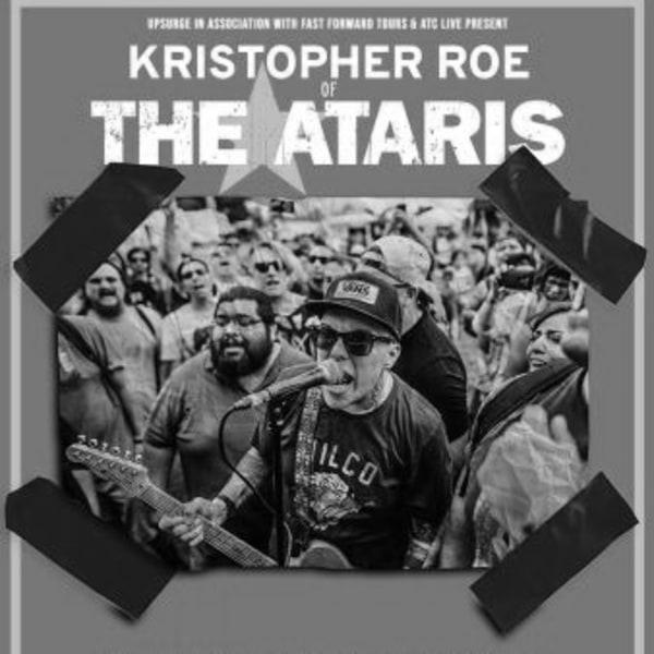 Kristopher Roe of The Ataris at New Cross Inn promotional image