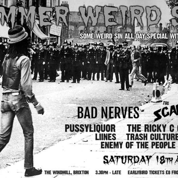 Summer Weird Sin Alldayer 2018  at Windmill Brixton promotional image