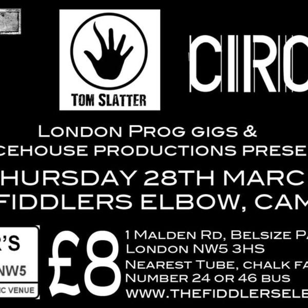 PROG ROCK at The Fiddler's Elbow promotional image