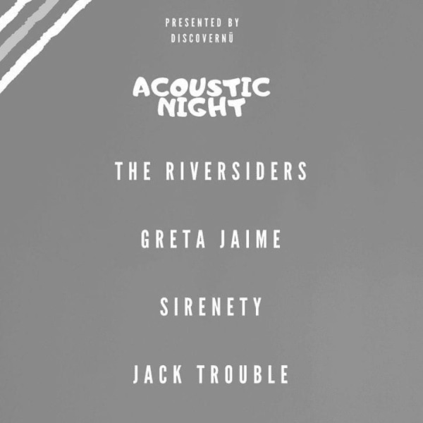 DiscoverNü Live: Acoustic Night at The Harrison promotional image