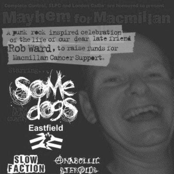 Mayhem For MacMillan at New Cross Inn promotional image