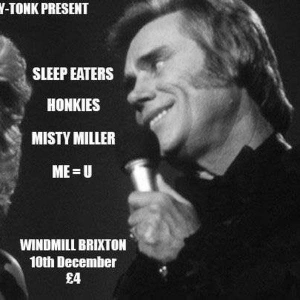 """""""HonkyTonkXmas"""" - Sleepeaters, Honkies, Misty Miller, Me=U  at Windmill Brixton promotional image"""