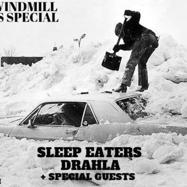 Sleepeaters & Drahla - Christmas Party  at Windmill Brixton promotional image