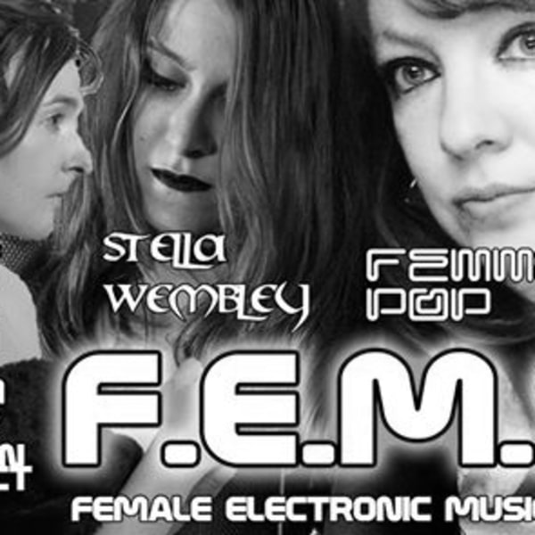Fems: Autorotation, Femmepop, Stella Wembley, Rose Astronaut at The Stag's Head promotional image