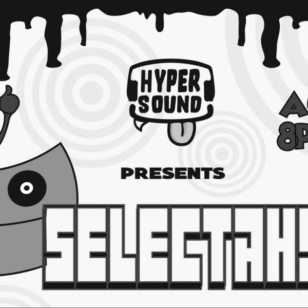HyperSound Presents: Selectah! at The Fiddler's Elbow promotional image
