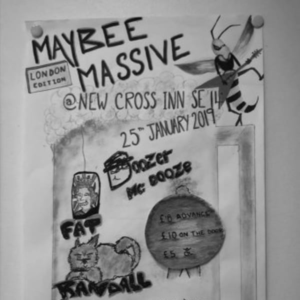 May Bee Massive London at New Cross Inn promotional image