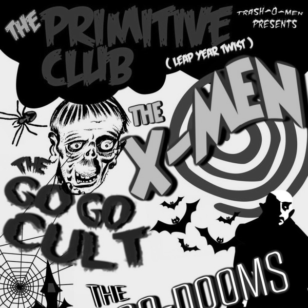 The Primitive Club # 3 - The X-Men at The Fiddler's Elbow promotional image