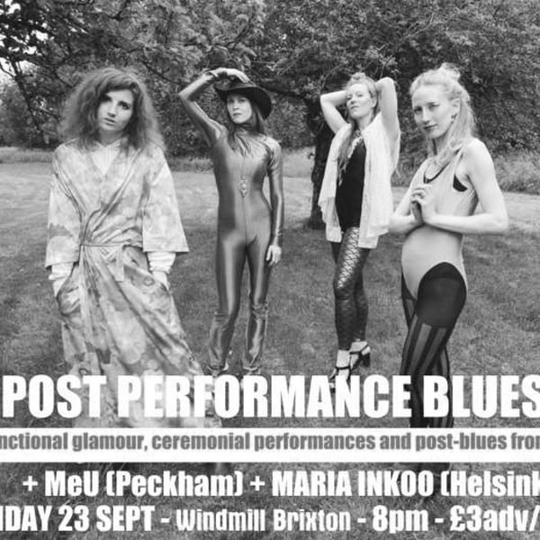 The Post Performance Blues Band (Iceland), MeU,  Maria Inkoo  at Windmill Brixton promotional image