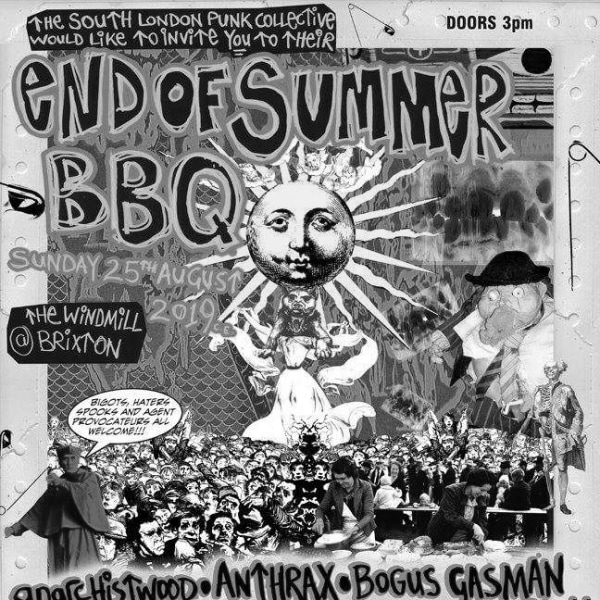 South London Punk Collective BBQ  at Windmill Brixton promotional image