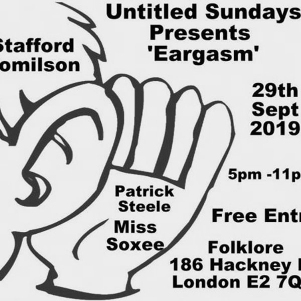 Untitled Sundays presents 'Eargasm' at Folklore promotional image