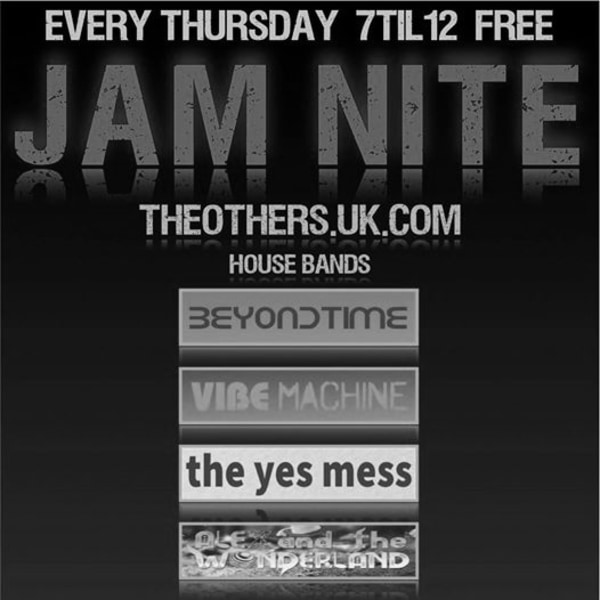 JamminSociety ft The Yes Mess at The Others promotional image