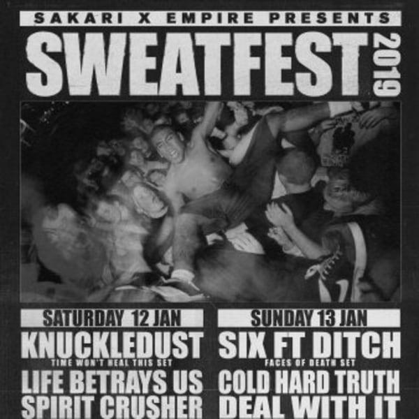 Sweatfest 2019 at New Cross Inn promotional image
