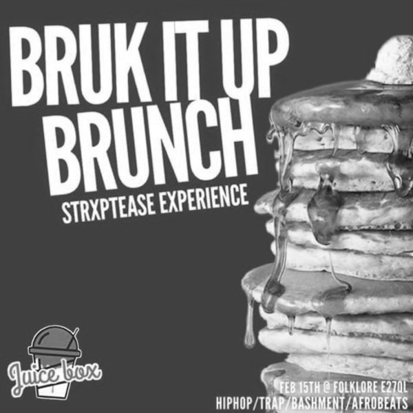 JuiceBox Presents Bruk It Brunch at Folklore promotional image