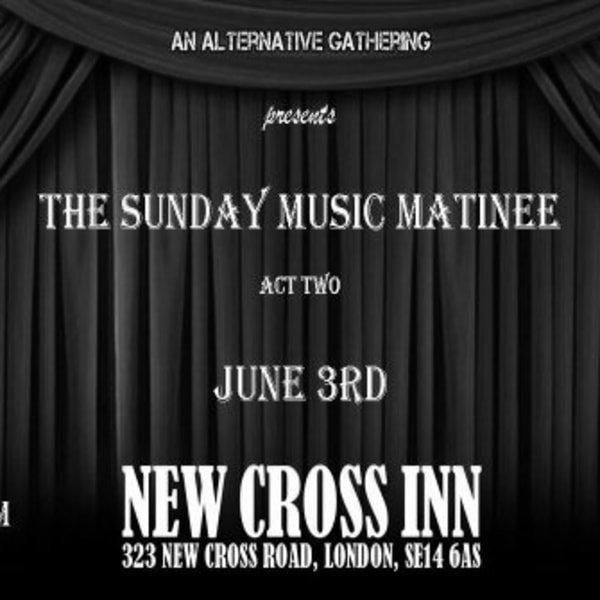 Sunday Service w/ JC Carroll + More at New Cross Inn promotional image
